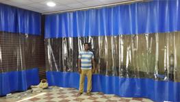 PVC Strip Curtains, Industrail Curtains, Bangalore, India